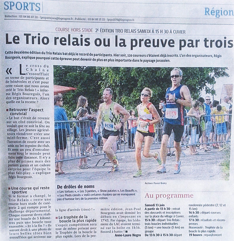 LeProgrès 11.15 TRIO RELAIS2015