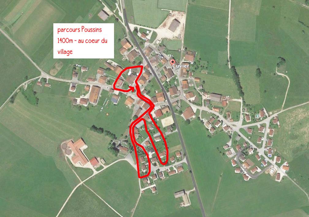 parcours Poussin 2017