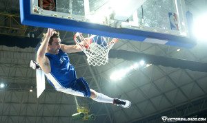 NBA Europe Live 2012 - Futbol Club Barcelona - Dallas Mavericks - Baloncesto - Basket - deporte - Crazy Dunkers - animacion - mates
