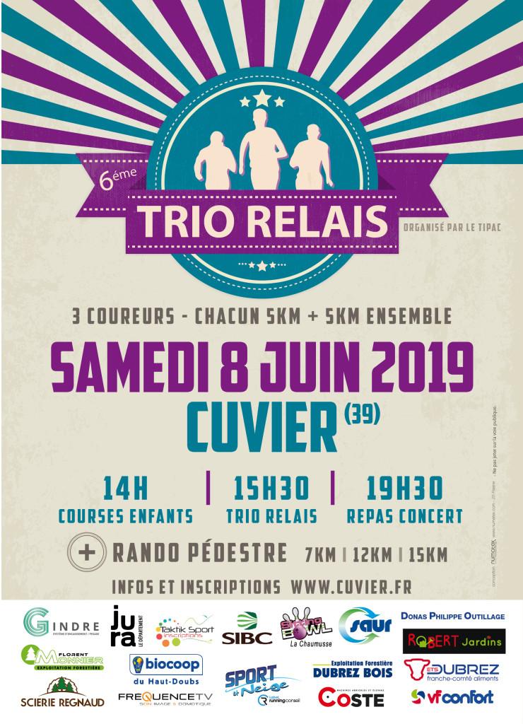 flyers trio relais 2019